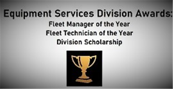 2020 EQUIPMENT SERVICES DIVISION AWARDS