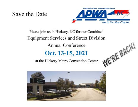 2021 Equipment Services and Street Division Annual Conference
