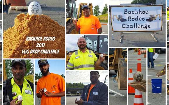 for the 2017 APWA NC Backhoe Roadeo!